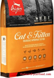 ORIJEN High-Protein, Grain-Free, Premium Quality Meat, Dry Cat Food1