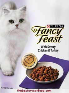 Purina Fancy Feast Dry Cat Food, With Savory Chicken & Turkey 1
