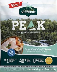Rachael Ray Nutrish PEAK Dry Cat Food, Grain Free