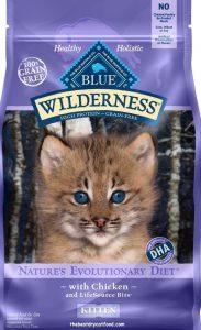 Blue Buffalo Wilderness High Protein Dry Kitten Food