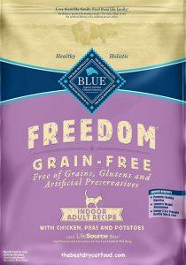 Bule Buffalo Freedom Grain Free Indoor Dry Cat Food