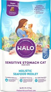 Halo Natural Sensitive Stomach Dry Cat Food