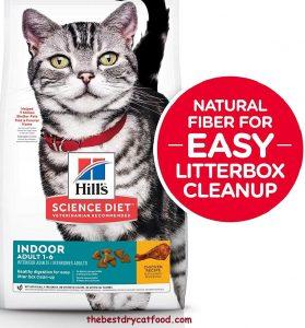 Hills Science Diet Indoor Litter Box Clean up