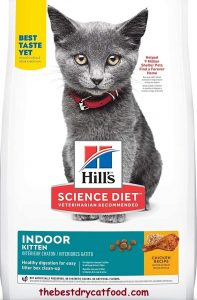 Hill's Science Diet Indoor Dry Kitten Food