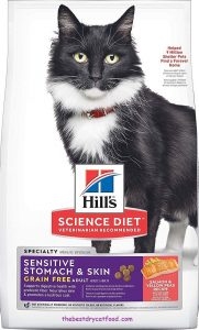 Hill's Science Diet Sensitive Stomach Dry Cat Food