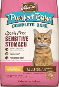 Merrick Purrfect Bistro Sensitive Stomach Dry Cat Food