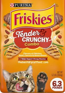 Purina Friskies Tender & Crunchy Combo Adult Dry Cat Food