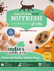 Rachael Ray Nutrish Complete Indoor Dry Cat Food