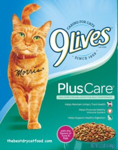 9Lives Dry Cat Food For Urinary Tract Health