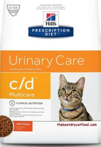 Hill's Prescription Diet Dry Cat Food for Urinary Tract Health