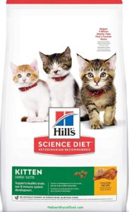 Hill's Science Dry Kitten Food, Chicken Recipe Reviews