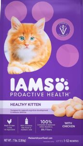 Iams Proactive Dry Kitten Food Reviews