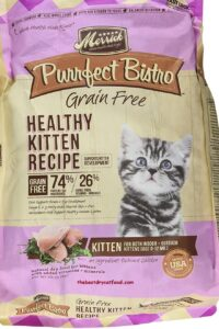 Merrick Perfect Bistro Dry Kitten Food Reviews