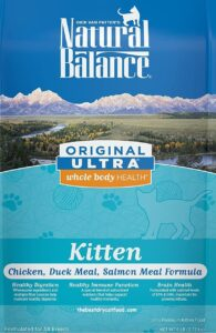 Natural Balance Dry Kitten Food Reviews