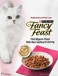 Purina Fancy Feast Dry Cat Food, Seafood &Shrimp Flavor Reviews