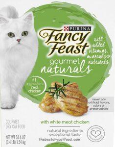 Purina Fancy Feast Naturals Dry Cat Food, Chicken Flavor