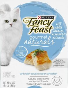 Purina Fancy Feast Naturals Dry Cat Food, Ocean Whitefish Reviews