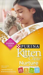 Purina Kitten Chow Nurture Dry Cat Food Reviews