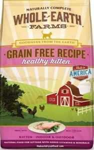 Whole Earth Farms Dry Kitten Food Reviews