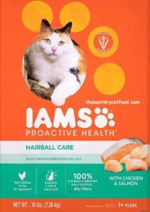 Iams Hairball Control Formula Dry Cat Food