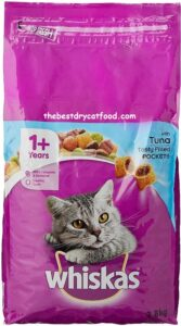 Whiskas Dry Cat Food, Tuna Flavor Recent Reviews