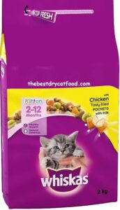 Whiskas Dry Kitten Food Recent Reviews