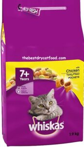 Whiskas Senior Dry Cat Food Recent Reviews
